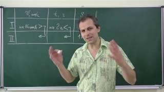 Алгебра 8. Урок 12 - Задачи на составление дробно-рациональных уравнений (Часть 1)
