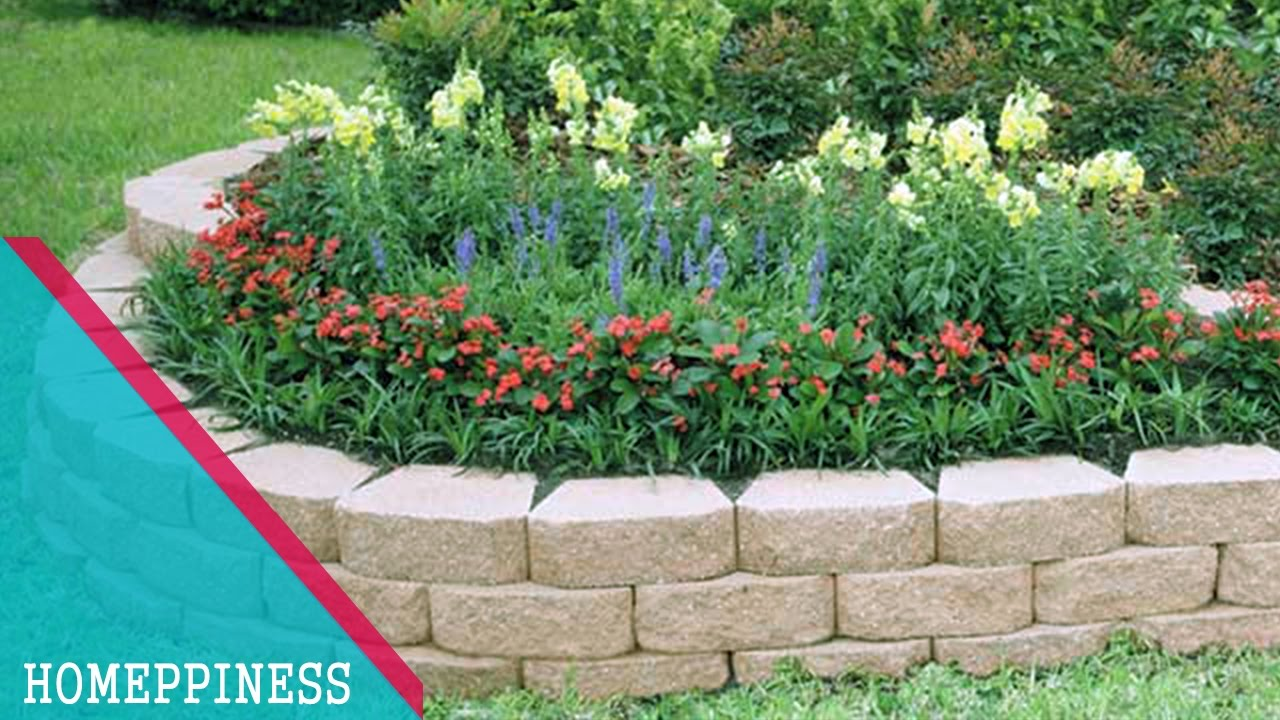 (MUST LOOK) 25+ Low Budget Stone Garden Edging Ideas that ... on Backyard Border Ideas id=68113