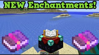 Minecraft NEW ENCHANTMENTS - Frost Walker & Mending 1.9 Gameplay