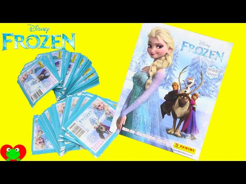Disney Frozen Collectible Sticker Album