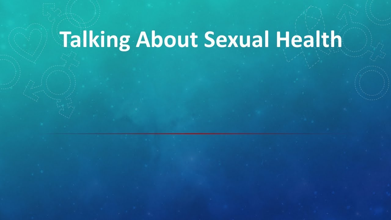 ELEVATE  - Toolbox Patient Videos - Sexual Health
