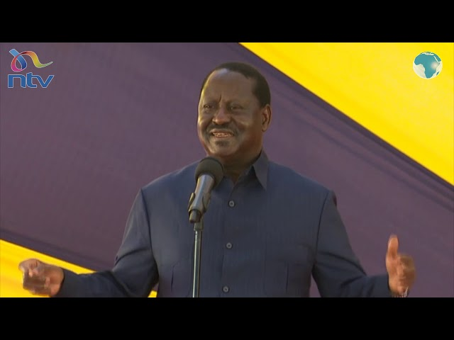 Raila's tribute to Karanja Kabage leaves mourners in stitches