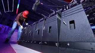 K-LA-210 system installation video