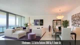 One Bal Harbour #1703 - Oceanfront 3 Bedroom Condominium For Sale Or Rent