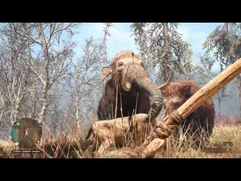 Far Cry® Primal Saber-toothed tiger fun.