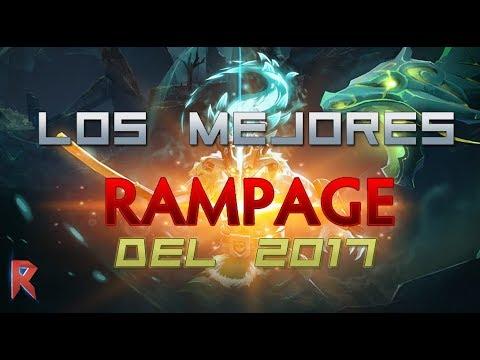 Los Mejores RAMPAGE Del 2017 - DOTA 2