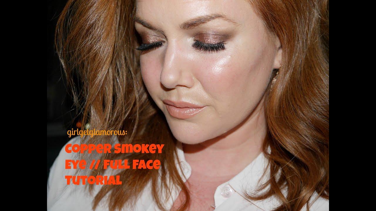 Redhead Eye Makeup Tutorial