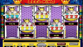 Astra Reel King JACKPOT 5 Scrolls Fruit Machine Video Slot