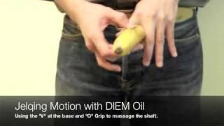 DIEM Oil - Jelqing enlargement massage