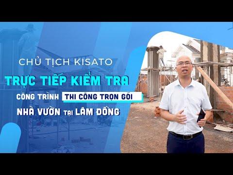 Chủ Tịch Kisato Kiểm Tra Tiến Độ Thi Công Trọn Gói Mẫu Nhà Vườn Đẹp - Độc Tại Di Linh, Lâm Đồng