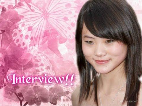 My (Wenwen Han)  interview in the Karate Kid premiere(LA)