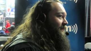 bray wyatt on luke harper s injury are he roman reigns face or heel his future and more