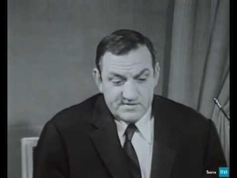 Extraits de l'appel de Lino Ventura à l'ORTF 1965