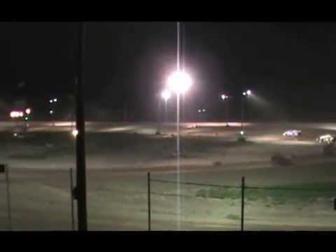 Michigan Dirt Cup I-96 Speedway Modified B-Main # 1 - 5/18/13