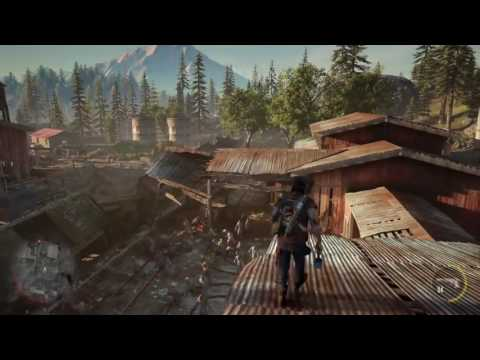 DAYS GONE Gameplay Demo PS4 E3 2016 Zombie Survival - YouTube