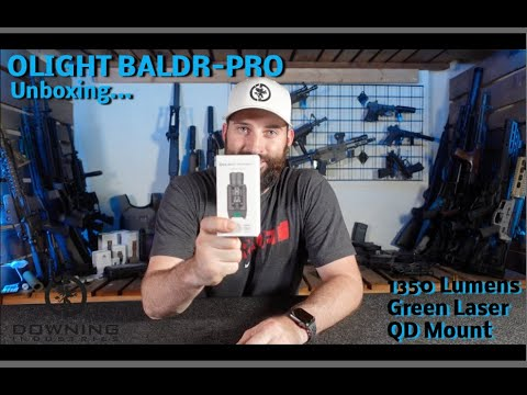 Olight Baldr Pro-Unboxing!