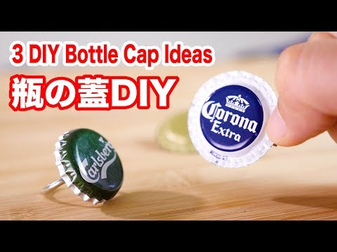 3 Creative DIY Bottle Cap Ideas