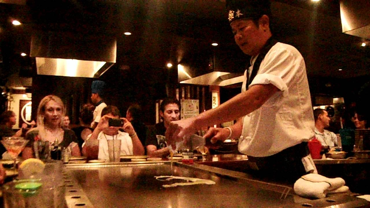 Kimura Japanese Restaurant In Boynton Beach Hibachi Table YouTube - Hibachi table restaurant