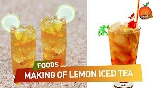 Lemon Iced Tea Easy Recipe - Orange Foods