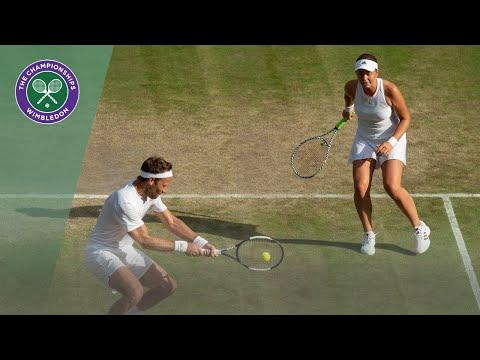 Lindstedt/Ostapenko Vs Skugor/Olaru Wimbledon 2019 Quarter-final Highlights