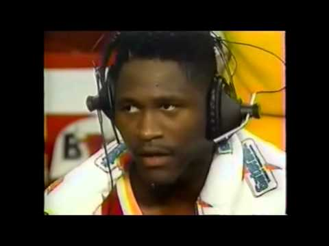 Dominique Wilkins Postgame Interview Vs Chicago (11-7-1992)