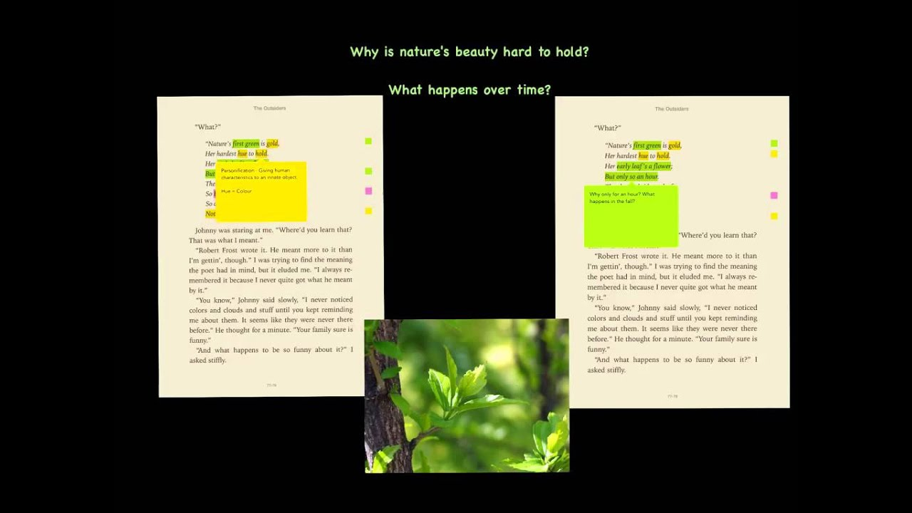 analysis of nothing gold can stay Tpcastt template tpcastt: poem analysis method: title, paraphrase,  nothing gold can stay - nothing in nature, especially what is beautiful, lasts forever.
