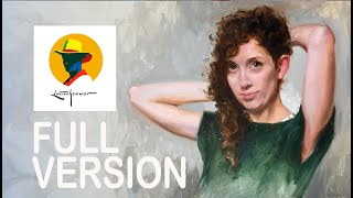 Learn How To Paint A Portrait In Oil Paint. Full \u0026 Free Tutorial. By Ben Lustenhouwer