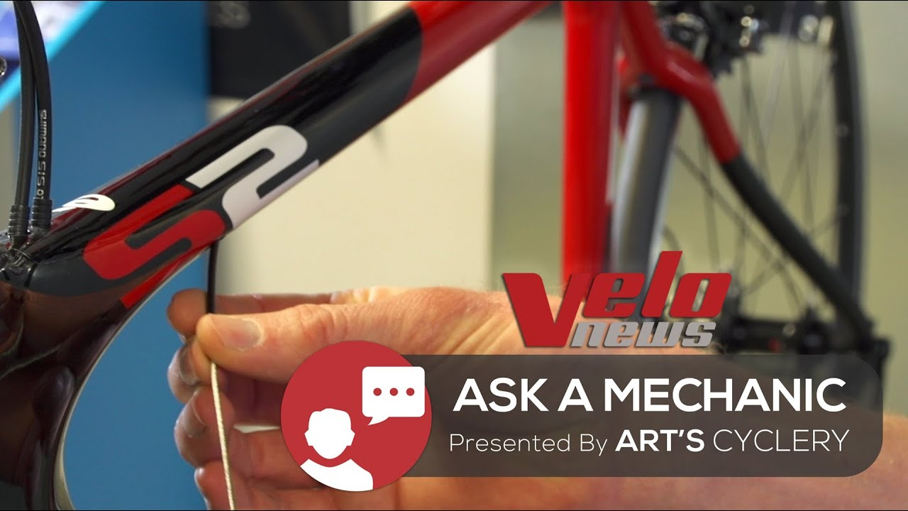 medium resolution of ask a mechanic how to replace internally routed cables