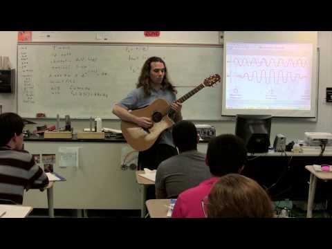The Basics of the Physics of a Guitar