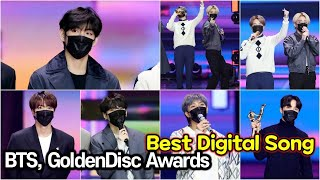 210109 방탄소년단(BTS), 35th Golden Disc Awards Best Digital Song…