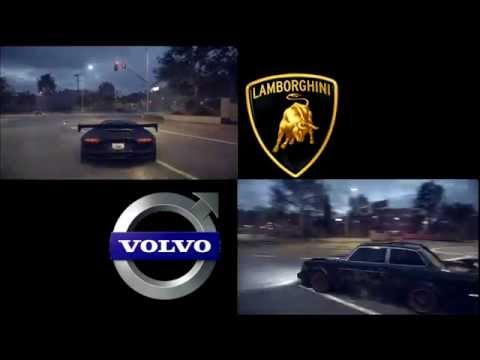 Lamborghini Aventador vs. Volvo 242 | Need For Speed 2015