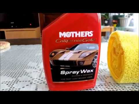 Mothers California Gold Spray Wax Review !!! Very Nice !!!