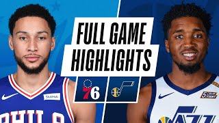 76ERS at JAZZ | FULL GAME HIGHLIGHTS | February 15, 2021