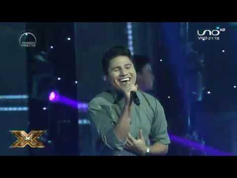 Mauricio hizo magia sobre el escenario de Factor X