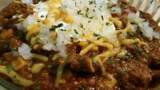 Ground  Turkey  &   Sweet   Turkey   Sausage  Chili