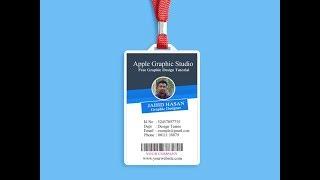 Şirket KİMLİK Kartı Tasarımı Eğitimi II Photoshop oluşturma