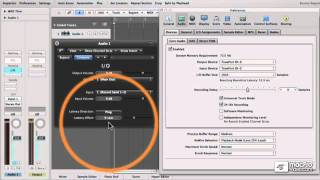 Logic 207: Logic's Latency Toolbox - 18 Measuring Recording Delay with the IO Plug-in