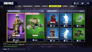 FORTNITE NEW SKIN VENTURION AND NEW PICO AND ALADELTA