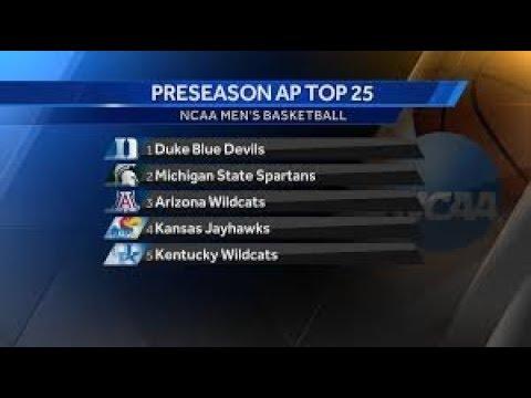 AP Top 25 men's basketball poll: Duke remains No. 1, Arizona tumbles out of ...