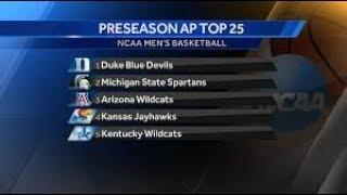 2017 Preseason AP Top 25 Rankings College Basketball Reaction!