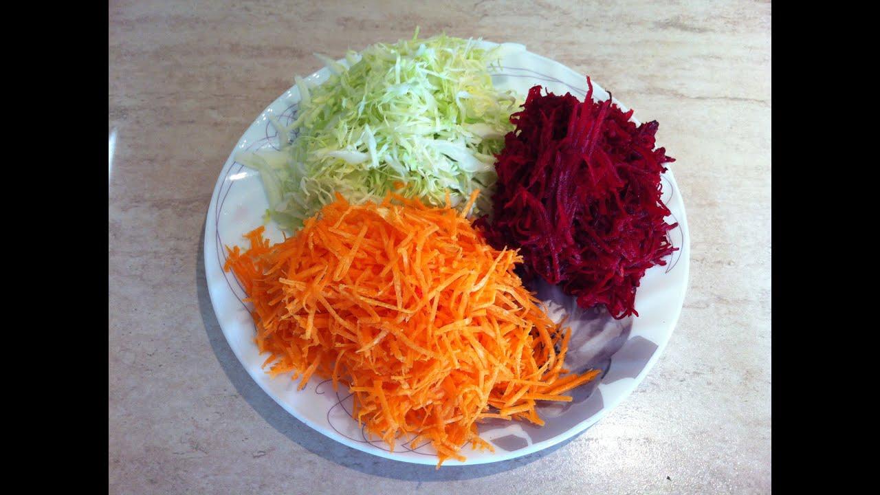 салат щетка для очищения кишечника