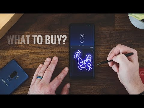 Should You REALLY Buy The Galaxy S9 Plus Or Get The Galaxy Note 8?