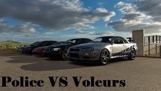 Forza Horizon 3 - POLICE VS VOLEURS