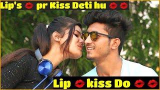 Kissing on Delhi Cute Girls  || Sam Khan