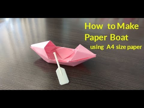 how to make a4 size paper