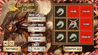 Grattage de jeux en ligne DRAGON
