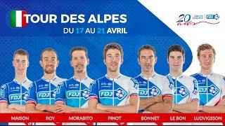 Composition de l'équipe FDJ pour le Tour des Alpes