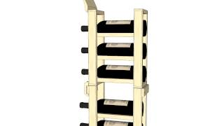 1 Column Standard Cellar Extender - Wine Racks America