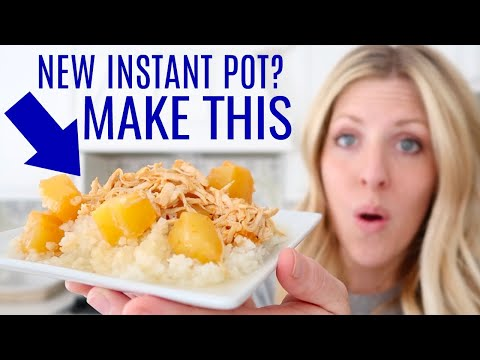 The EASIEST Instant Pot Recipe- Hawaiian BBQ Chicken - Perfect for Beginners - Dump and Go