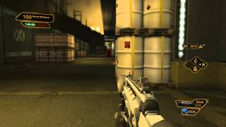 Deus Ex: Human Revolution DC - Stowing Away: Tong's Explosive Package, Obtain C-4, Turret, Bots, Gas